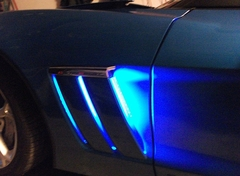 Corvette Side Cove LED Lighting Kit with Standard Remote : 2010-2013 Grand Sport only