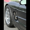 Corvette Side Fender Screen 2 Pc. (Set) : 1997-2004 C5 & Z06