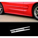 Corvette Side Skirts / Rocker Extensions : 1997-2004 C5 & Z06