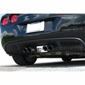 Corvette Smoked Reverse Light Cover (05-13 C6)