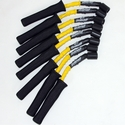 Corvette Spark Plug Wires (Set) - Granatelli Motorsports 8mm Yellow/Black