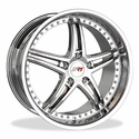Corvette SR1 Performance Wheels - BULLET Series : Chrome