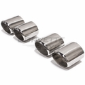 Corvette Stainless Exhaust Tips (97-00 C5)
