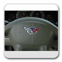 Corvette Steering Wheel Inserts
