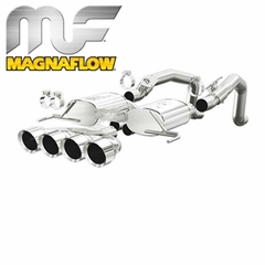 Corvette Exhaust Magnaflow Axle-Back Performance Series - Non NPP : C7 Stingray, Z51