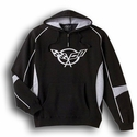 Corvette Sweatshirt Hoodie -Black Quarter-Zip 1997-2004 C5
