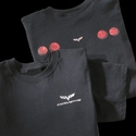 Corvette T-Shirt Black with C6 Taillights