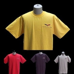 Corvette T-Shirt : Embroidered Exterior Color C6