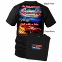 "Corvette T-Shirt ""the best weekends end with a blur"" C6 Corvette"