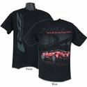 Corvette T-shirt - ZR1 Life In The Fast Lane - Red