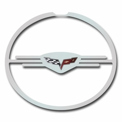 Corvette - Taillight Trim Rings - Executive Style - Stainless Steel Polished 4 Pc. Set : 2005-2013 C6, Z06, ZR1, Grand Sport