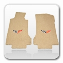 Corvette Tan & Cashmere Floor Mats
