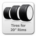 "Corvette Tires for 20"" Rims"