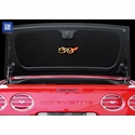 Corvette Trunk Liner - Convertible or Hardtop with Gold 50th Anniversary Logo (2003 C5 & Z06)