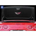 Corvette Trunk Liner - Convertible or Hardtop with Silver C5 Logo (98-04 C5 & Z06)