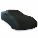 Corvette Ultraguard Stretch Satin Car Cover - Black - Indoor