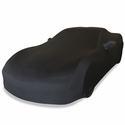 Corvette Ultraguard Stretch Satin Car Cover- Black - Indoor