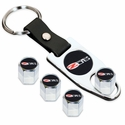 Corvette - Valve Stem Caps w/C6 Z06 505HP Logo : 2005-2013 C6 Z06 505HP - Elite Automotive Products, Inc. 7030856