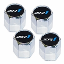 Corvette - Valve Stem Caps w/C6 ZR1 Logo : 2005-2013 C6 ZR1 - Elite Automotive Products, Inc. 5030337