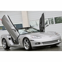 Corvette Virticle Door Hinge Kit - Lambo Doors (05-13 C6 / C6 Z06)