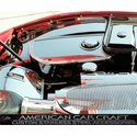 Corvette Water Tank Covers with Cap Cover - Polished Stainless Steel : 1997-2004 C5 & Z06