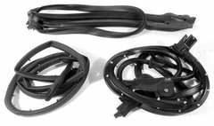 Corvette Weatherstrip Kit - Convertible Body 4 Pc. (C4 86-89)
