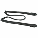 Corvette Weatherstrip - Roof & Window Front Latex - Pair (C4 84-96)