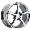 Corvette Wheel - 2010 Grand Sport Style Reproduction - Chrome