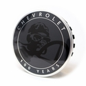 Corvette Wheel Center Cap - 100th Anniversary Centennial Edition Logo