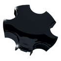 Corvette Wheel Center Cap - Black (00-04 C5)