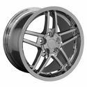 Corvette Wheel Package C6Z06 Style Deep Dish Wheels - Chrome (97-04 C5 / C5 Z06)