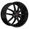 Corvette Wheel Package - SR1 APEX Gloss Black 1 Piece Aluminum (97-12 C5 / C5 Z06 / C6)