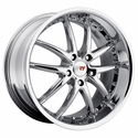 "Corvette Wheel Package - SR1 Series ""APEX"" Chrome 1 Piece Aluminum (97-12 C5 / C5 Z06 / C6)"