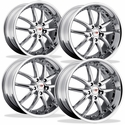 "Corvette Wheel Package - SR1 Series ""APEX"" Chrome - (Set)"
