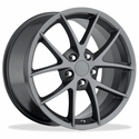 Corvette Wheels - 2009 C6Z06 Spyder Style Reproductions : Competition Grey