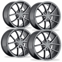 Corvette Wheels - 2009 C6Z06 Spyder Style Reproductions (Set) : Competition Grey