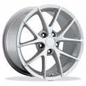 Corvette Wheels - 2009 C6Z06 Spyder Style Reproductions : Silver