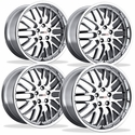 Corvette Wheels - Cray Manta (Set) : Chrome