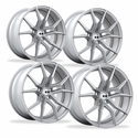 Corvette Wheels - XO Luxury - Verona (Set) : Brushed Silver, C5, C6, C7