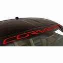 Corvette Windshield Decal Letter Kit : 2005-2013 C6,Z06,ZR1,GS