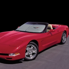 Corvette Windshield Sun Shade : 1997-2004 C5 & Z06