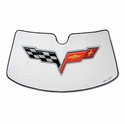 Corvette Windshield Sun Shade w/ C6 Logo (05-12 C6/Z06/ZR1/Grand Sport)
