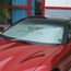Corvette Windshield Sunshade - Insulated w/ C5 Logo (97-04 C5 / C5 Z06) - click to enlarge