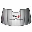 Corvette Windshield Sunshade - Insulated w/ C5 Logo (97-04 C5 / C5 Z06)
