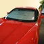 Corvette Windshield Sunshade - Insulated w/ C6 Logo (05-13 C6/Z06/ZR1/Grand Sport) - click to enlarge