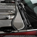 Corvette Wiper Cowl Cover - Perforated Stainless Steel : 1997-2004 C5 & Z06
