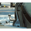 Corvette Wiper Cowl Cover - Polished Stainless Steel - C6