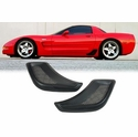 Corvette Z06 Rear Brake Vents - Stick-On (Set) : 1997-2004 C5