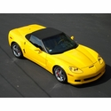 Corvette Z06 Rear Fender Package for Standard C6, Coupe or Convertible : 2005-2013 C6
