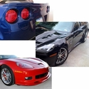 Corvette ZR1 Style Ground Effects Package : 2006-2013 Z06, Grand Sport